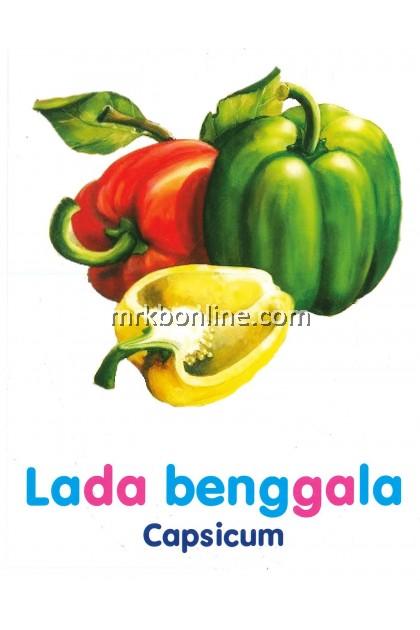Kad Imbad Mengenal Sayur- Sayuran (32 Kad Imbas)