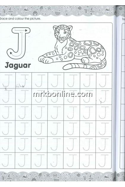 [OFFER] Siri Anak Bijak - Preschool Activity Book Writing ABC (Capital Letters)