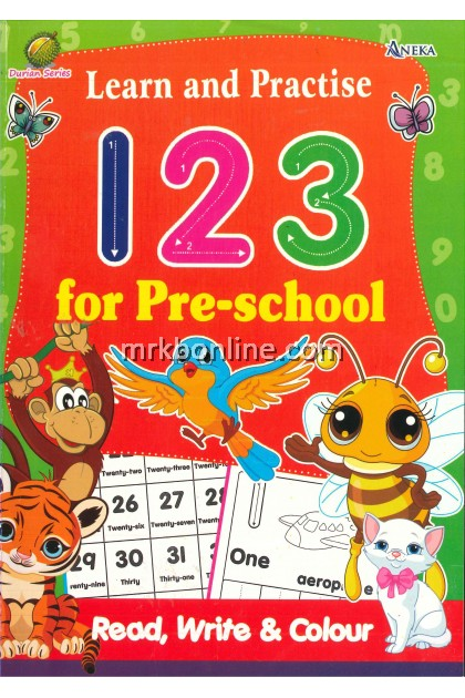 [OFFER] Durian Series - Learn & Practice 123 for Pre-school