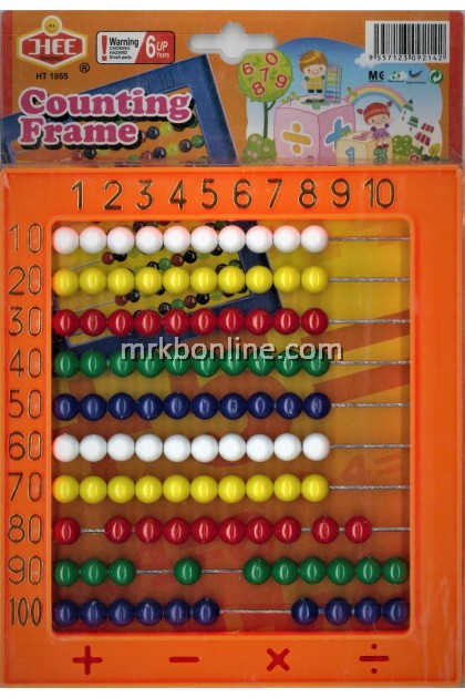 JHEE Multicolour Counting Frame