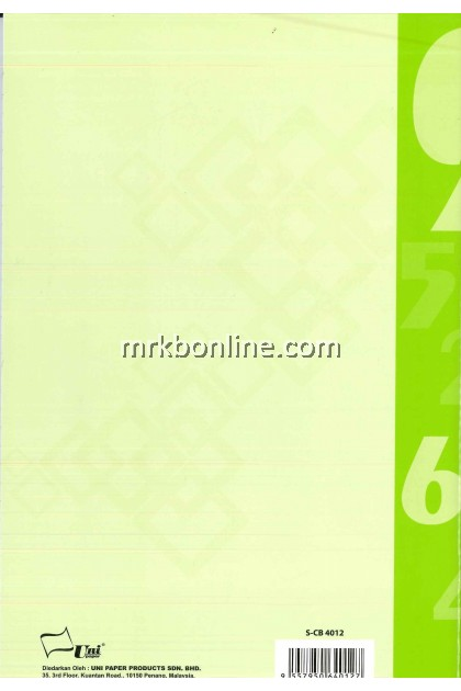 Buku Kira-Kira TUNAI 80 Mukasurat