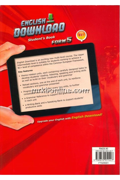 [2021] ENGLISH DOWNLOAD  (Student's Book) Form 5