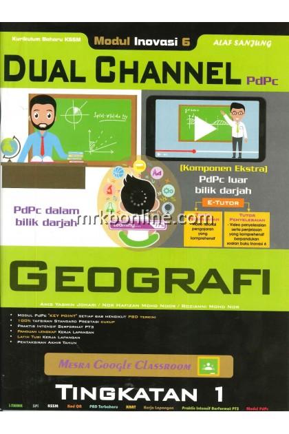 2021 Modul Inovasi 6 Dual Channel Geografi Tingkatan 1