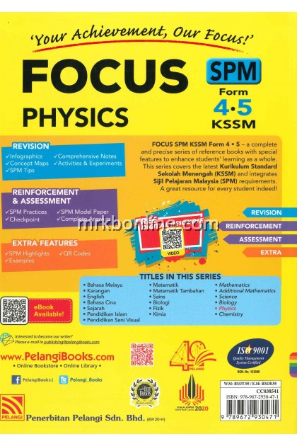 [2021] Focus SPM Physics Form 4&5 KSSM