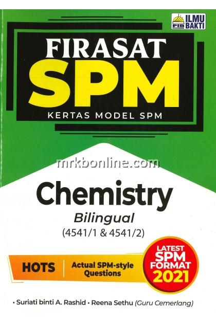 [2021] Firasat Kertas Model SPM Chemistry (Bilingual)