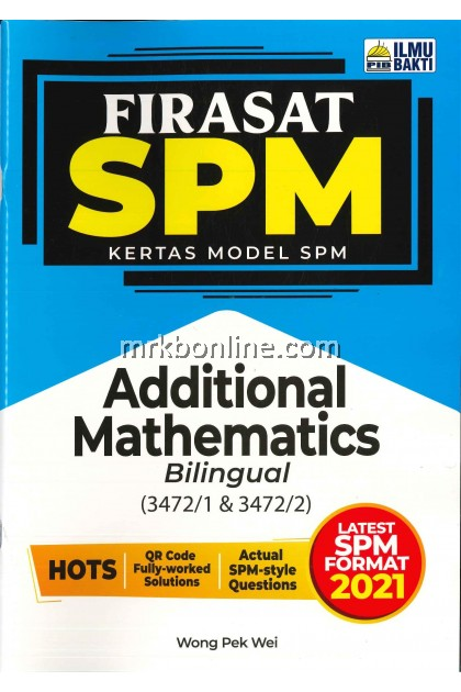[2021] Firasat Kertas Model SPM Additional Mathematics(Bilingual)