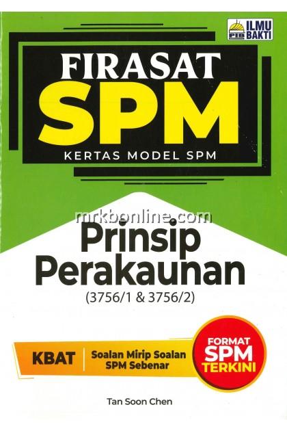 [2021] Firasat Kertas Model SPM Prinsip Perakaunan
