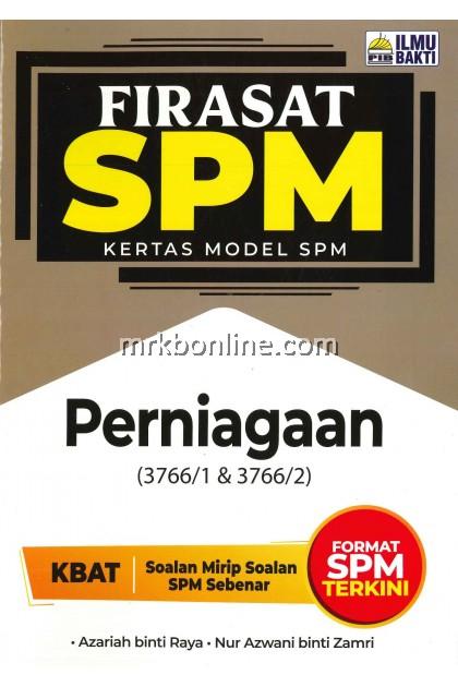 [2021] Firasat Kertas Model SPM Perniagaan