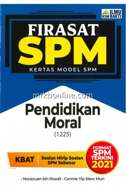 [2021] Firasat Kertas Model SPM Pendidikan Moral