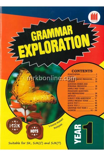 Grammar Exploration Year 1