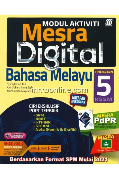 [2021] Modul Aktiviti Mesra Digital Bahasa Melayu Tingkatan 5 KSSM