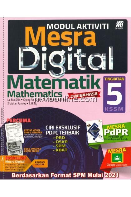 [2021] Modul Aktiviti Mesra Digital Matematik Tingkatan 5 KSSM
