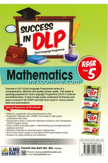 Success In DLP Mathematics Year 5 KSSR