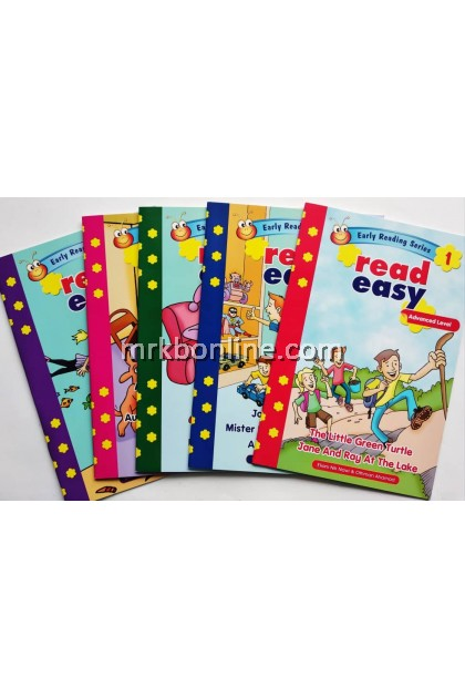 Early Reading Series Read Easy Advanced Level (5 BOOKS)