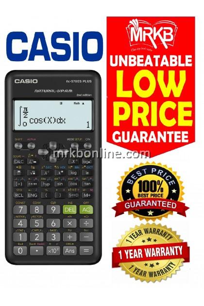 Casio Scientific Calculator fx-570ES PLUS 2nd Edition