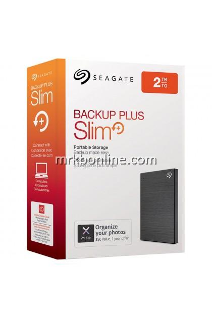 Seagate Backup Plus Slim Black USB 3.0/2.0 1Tb/ 2 Tb