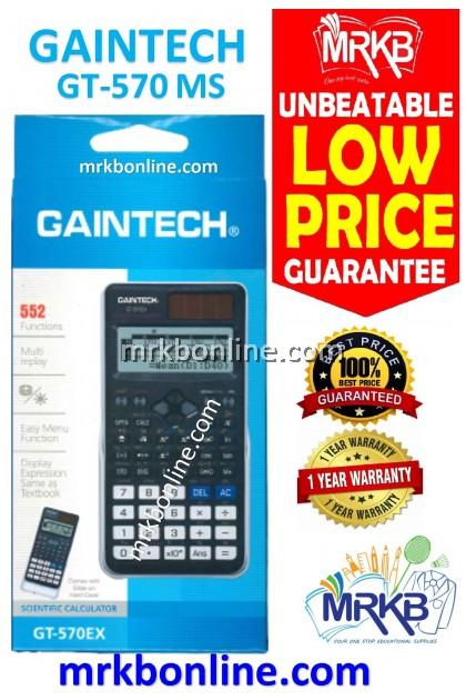 GAINTECH Scientific Calculator GT-570EX