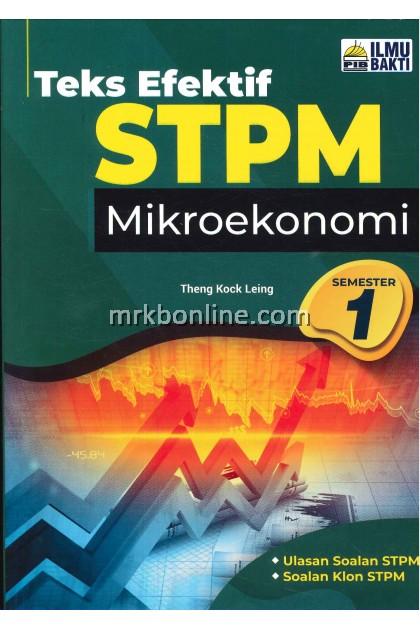 [2021] Teks Efektif STPM Mikroekonomi Semester 1