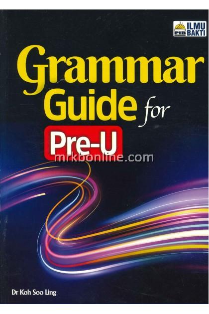 [2021] Grammar Guide for Pre-u