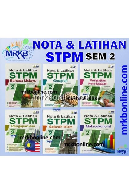 [2021] NOTA & LATIHAN STPM SEMESTER 2