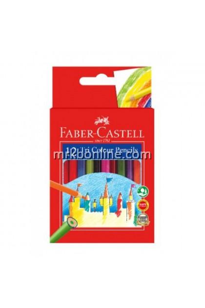 Faber-Castell 12 Tri Colour Pencils (Short) 115902