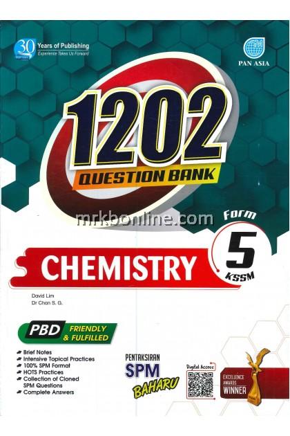 1202 Question Bank Chemistry Form 5 KSSM