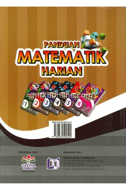 Panduan Matematik Harian Tahun 4 KSSR