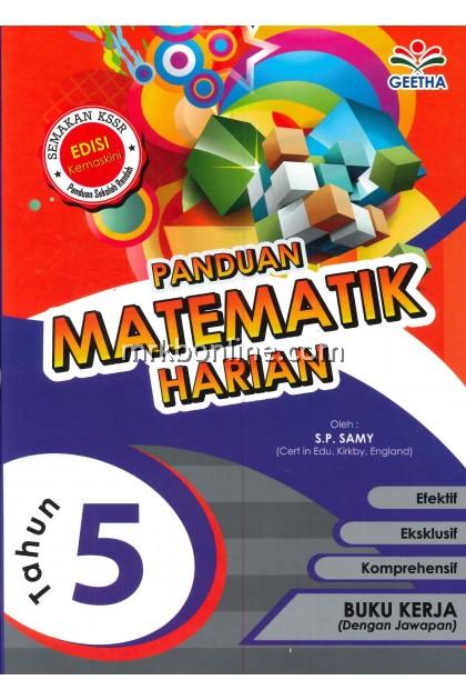 Panduan Matematik Harian Tahun 5 KSSR