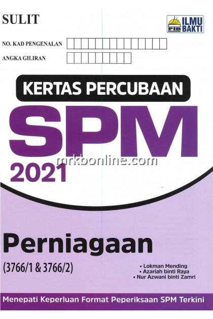 [2021] Kertas Percubaan SPM 2021