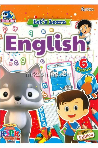 Siri Ikan Yu-Let's Learn  English (6 Tahun)