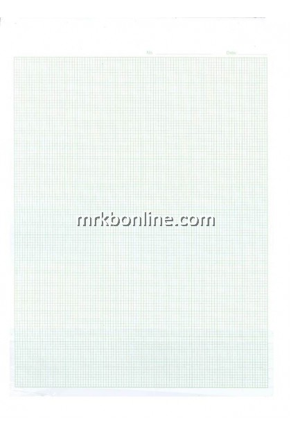 Graph Paper  A4 50 Sheets (1 Page Line. 1 Page Graph)