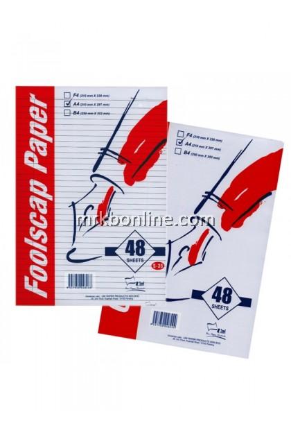 Uni A4 Foolscape Paper Paper 48'S 70GSM