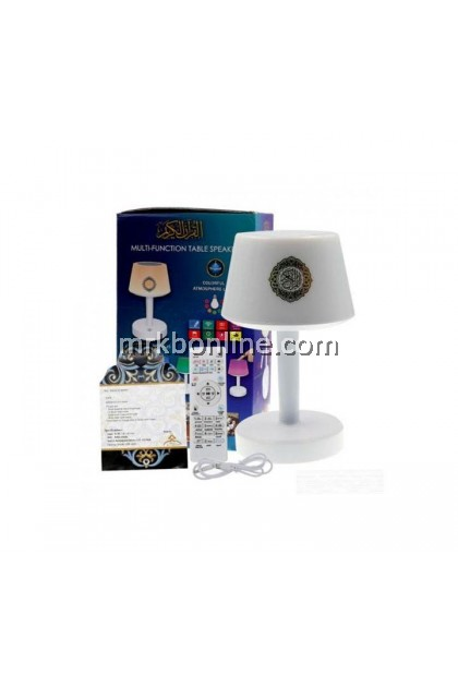 Multi-Function Table Qurán Speaker Touch Lamp Atmosphere Light MTS-525